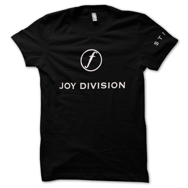 bandit rockstore joy division t shirt still. Black Bedroom Furniture Sets. Home Design Ideas