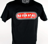 T-SHIRT - BLACK, LOGO