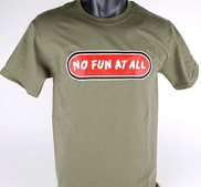 T-SHIRT - PUNK GREEN, LOGO