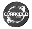 CORRODED - PATCH, SKULLS