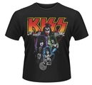 KISS - T-SHIRT, NEON BAND