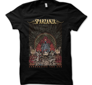SPARZANZA - T-SHIRT, ANNOUNCING THE END
