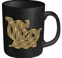 THIN LIZZY - MUG, GOLD LOGO