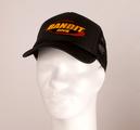 BANDIT - TRUCKER CAP, LOGO (BLACK)