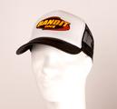 BANDIT - TRUCKER CAP, LOGO (BLACK/WHITE)