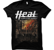 H.E.A.T - T-SHIRT, TEARING DOWN THE WALLS