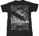 LED ZEPPELIN - T-SHIRT, SHOOK ME