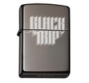 BLACK TRIP - ZIPPO, LOGO (BLACK ICE)