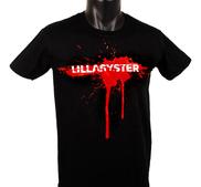 LILLASYSTER - T-SHIRT, SPRAY (BLACK)