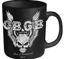 CBGB - MUG, SKULL WINGS