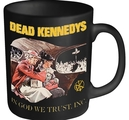 DEAD KENNEDYS - MUG, IN GOD WE TRUST