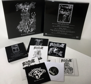 "NIHILIST / ENTOMBED - CARNAL LEFTOVERS 7"" VINYL BOX"