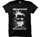 DEGREED - T-SHIRT, MADNESS (SVART)