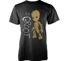 MARVEL GUARDIANS OF THE GALAXY VOL 2 - T-SHIRT,  I AM GROOT SCRIBBLES