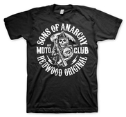 SONS OF ANARCHY - T-SHIRT, MOTO CLUB