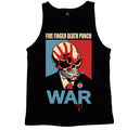FIVE FINGER DEATH PUNCH - TANK TOP, WAR