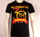 EUROPE - T-SHIRT, 30TH ANNIVERSARY