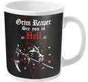 GRIM REAPER - MUG, SEE YOU IN HELL