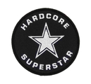 HARDCORE SUPERSTAR - PATCH, LOGO (ROUND)