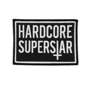 HARDCORE SUPERSTAR - PATCH, CROSS LOGO