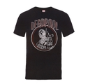MARVEL DEADPOOL - T-SHIRT, DEADPOOL VINTAGE CIRCLE