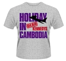 DEAD KENNEDYS - T-SHIRT, HOLIDAY IN CAMBODIA 2