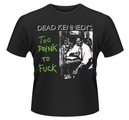 DEAD KENNEDYS - T-SHIRT, TOO DRUNK TO FUCK (SINGLE)