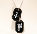 THE SCAMS - DOG TAGS, LOGO / AIRPLANE