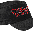 CANNIBAL CORPSE - ARMY CAP, LOGO ARMY CAP