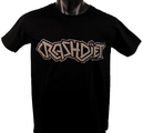 CRASHDIET - T-SHIRT, LOGO (BLACK)