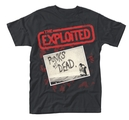 EXPLOITED, THE - T-SHIRT, PUNKS NOT DEAD