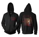 CANNIBAL CORPSE - ZIP-HOOD, RED BEFORE BLACK