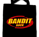 COTTON BAG - BLACK, BANDIT LOGO