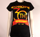 EUROPE - LADY T-SHIRT, 30TH ANNIVERSARY