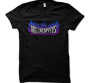 HELLACOPTERS - T-SHIRT, PAYIN FLAMES