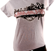 LADY T-SHIRT - SPORTS GREY, CITY