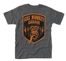 GAS MONKEY GARAGE - T-SHIRT, SHIELD