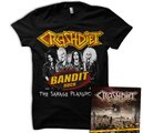 CRASHDIET - SAVAGE PLAYGROUND (T-SHIRT+CD)