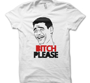 FUN T-SHIRTS - BITCH PLEASE