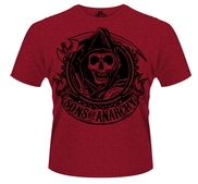 SONS OF ANARCHY - T-SHIRT, REAPER BANNER