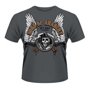 SONS OF ANARCHY - T-SHIRT, WINGED REAPER