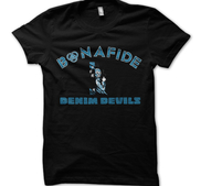 BONAFIDE - T-SHIRT, DENIM DEVILS TOUR