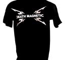 T-SHIRT - BLACK, DEATH MAGNETIC SWEDEN