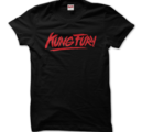 KUNG FURY - T-SHIRT, LOGO (BLACK)