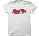 KUNG FURY - T-SHIRT, LOGO (WHITE)