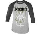 BEHEMOTH - 3/4 SLEEVE BASEBALL, DISINTEGRATE