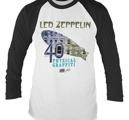 LED ZEPPELIN - LONG SLEEVE BASEBALL, PHYSICAL GRAFFITI
