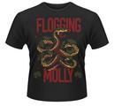 FLOGGING MOLLY - T-SHIRT, SNAKE