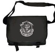 SONS OF ANARCHY - MESSENGER BAG, SAMCRO REAPER