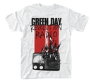 GREEN DAY - T-SHIRT, RADIO COMBUSTION